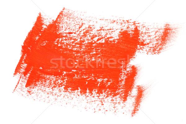 Vermelho cor paint brush água textura fundo Foto stock © dezign56