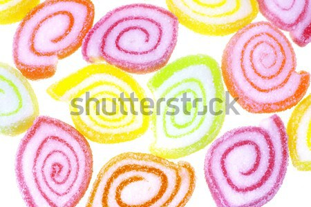 Candy strisce bianco sfondo gruppo pattern Foto d'archivio © dezign56