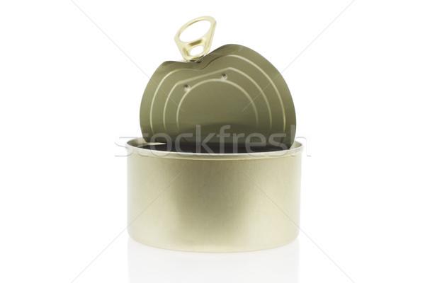 Open tin can Stock photo © dezign56