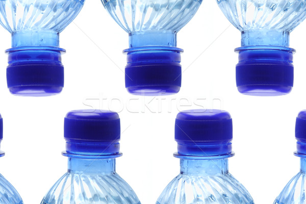 Mineral water bottles Stock photo © dezign56