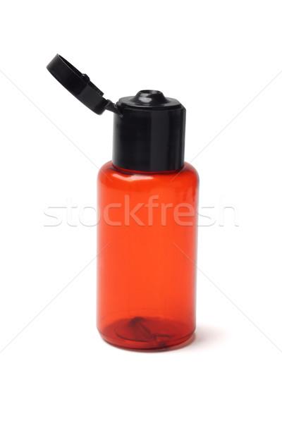 Kozmetikai műanyag üveg üres fehér test Stock fotó © dezign56
