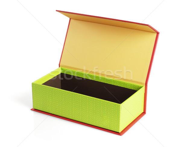 Open Festive Gift Box  Stock photo © dezign56