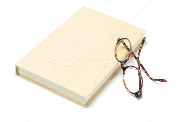 Hardcover Book and Reading Glasses Stock photo © dezign56
