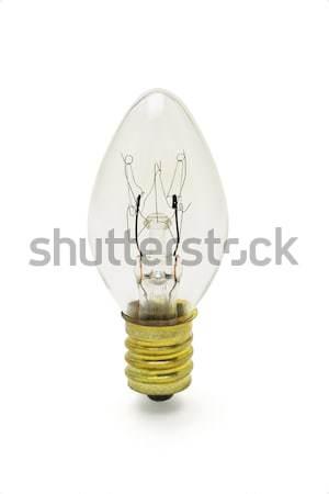 Tungsten ampul oval biçim beyaz lamba Stok fotoğraf © dezign56