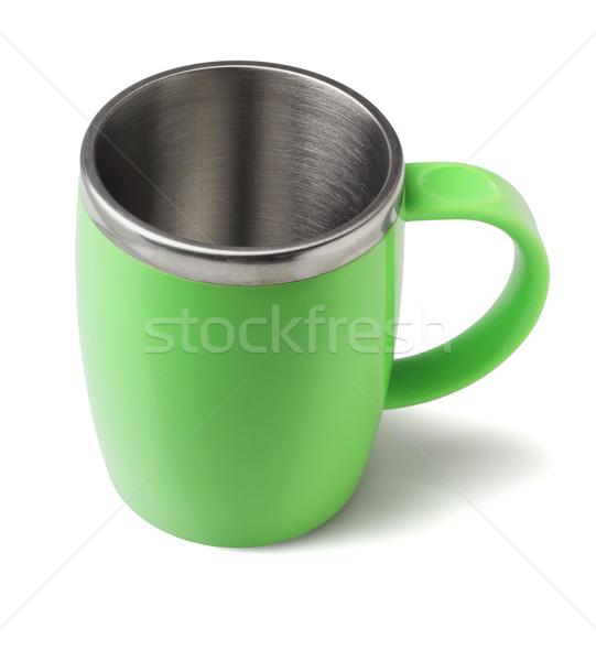ステンレス鋼 コーヒーマグ 白 食品 コーヒー キッチン ストックフォト © dezign56