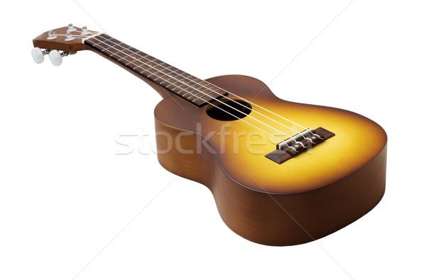 музыку древесины моста звук изолированный никто Сток-фото © dezign56