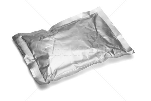 Sealed aluminum bag  Stock photo © dezign56