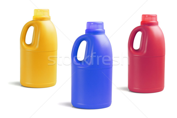 Bottles of Detergent  Stock photo © dezign56