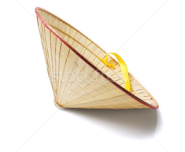 オリエンタル 麦わら帽子 白 中国語 オブジェクト 装飾 ストックフォト © dezign56