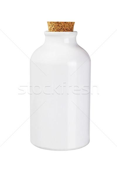 White Metal Bottle Stock photo © dezign56