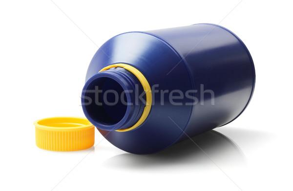 Lege Open witte Blauw chemische Stockfoto © dezign56