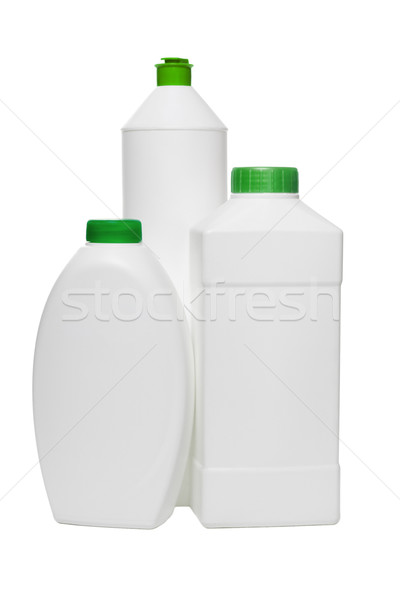 Plastic bottles for household cleaning products  Stock photo © dezign56