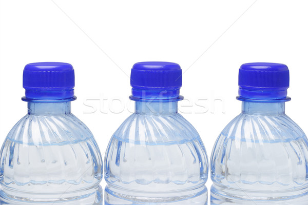 Mineral water in plastic bottles Stock photo © dezign56