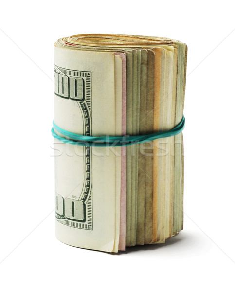 Rolled up US Dollar Bills Stock photo © dezign56