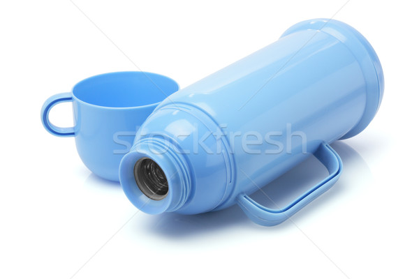 Empty Thermos Flask Stock photo © dezign56