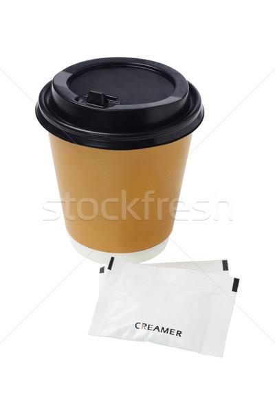 Coffee and Creamer Stock photo © dezign56
