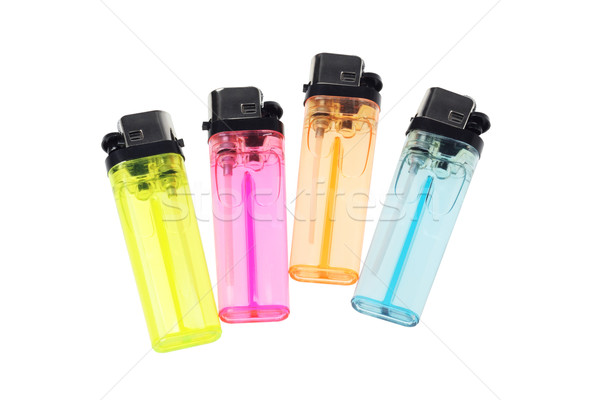 Plástico alto descartável quente charuto objeto Foto stock © dezign56