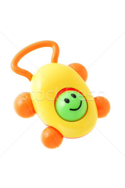 Baby plastic rattle Stock photo © dezign56