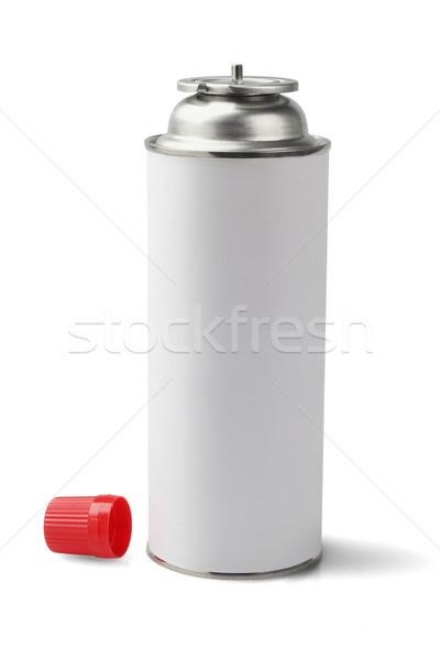 Benzin patron bután hordozható acél konténer Stock fotó © dezign56