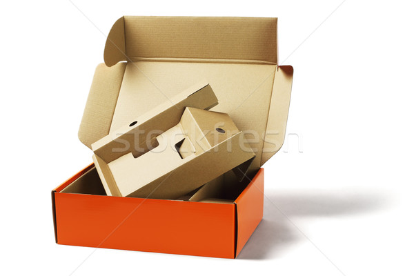 Package Box and Packing Cardboard  Stock photo © dezign56