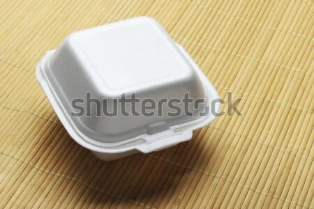 Styrofoam Takeaway Box  Stock photo © dezign56