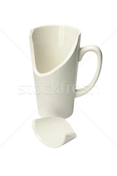 Broken Ceremic Mug Stock photo © dezign56