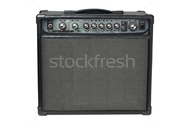 Guitar Amplifier Stock photo © dezign56
