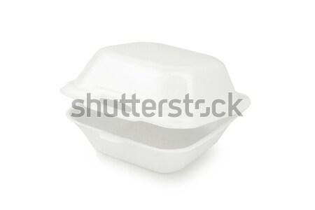 Styrofoam container Stock photo © dezign56