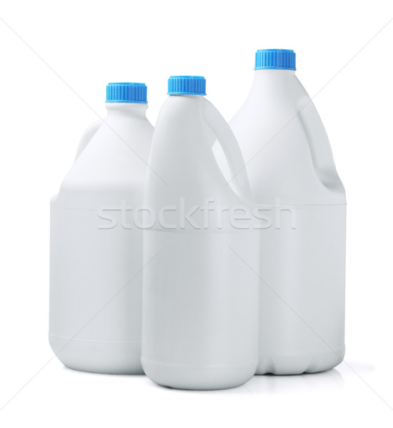 три моющее средство группа молоко бутылку ванную Сток-фото © dezign56