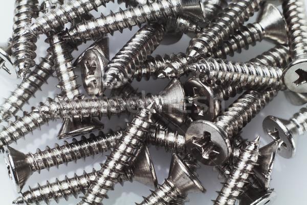 Metal Screws  Stock photo © dezign56
