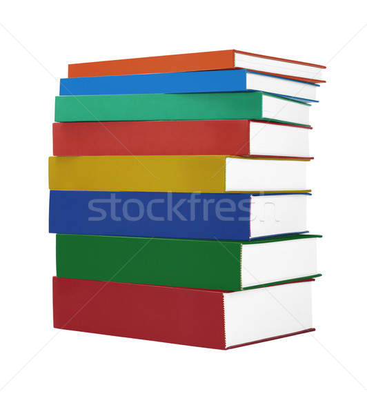 Colorful Hardcover Books  Stock photo © dezign56