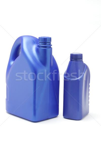 Сток-фото: пластиковых · нефть · белый · промышленности · Motor · контейнера