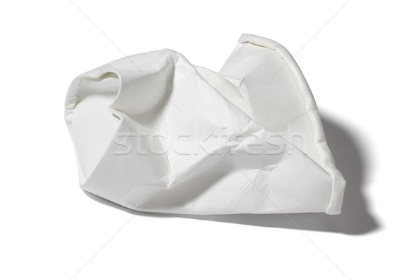 Crumbled Paper Cup Stock photo © dezign56