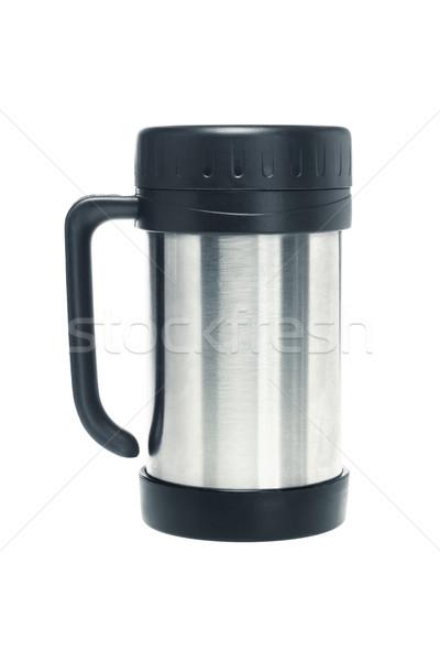 кружка закрыто белый кофе пить Кубок Сток-фото © dezign56
