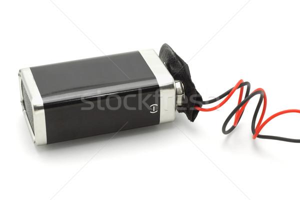 9v battery Stock photo © dezign56