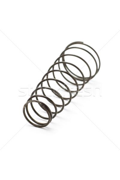 Metal spring coil Stock photo © dezign56