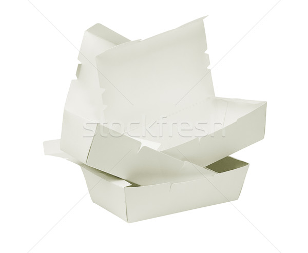 Takeaway Cardboard Boxes Stock photo © dezign56