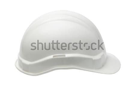 White Plastic safety helmet  Stock photo © dezign56
