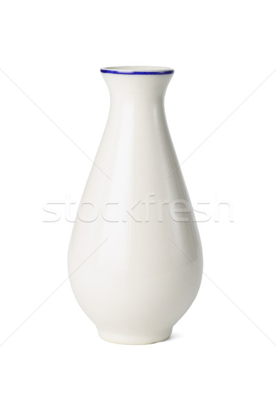 Chinese porselein vaas witte container object Stockfoto © dezign56