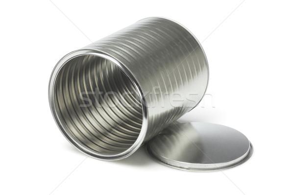 Open Empty Tin Can Stock photo © dezign56
