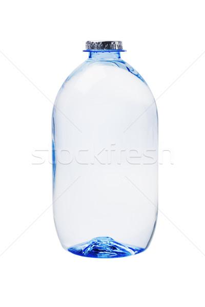 Plástico garrafa água mineral branco azul limpar Foto stock © dezign56