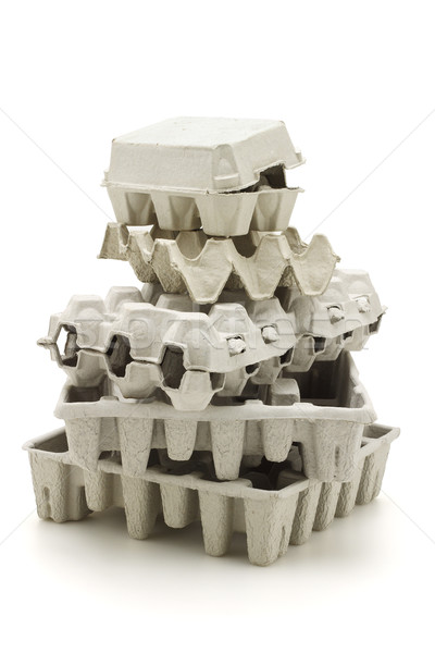 Recycled paper carton  Stock photo © dezign56
