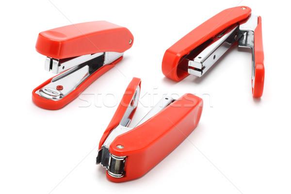 три оранжевый цвета служба группа стали Сток-фото © dezign56