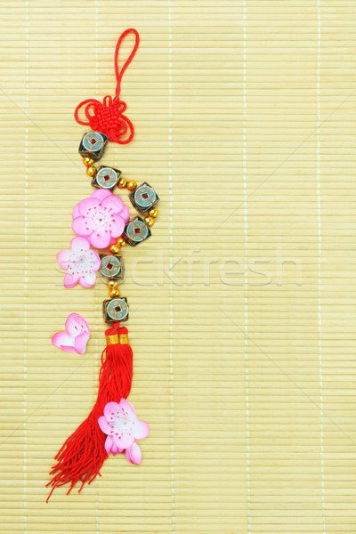 Chinese New Year Decorative Ornament Stock photo © dezign56