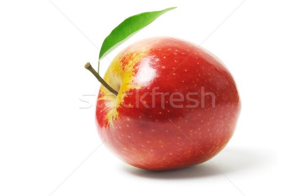 свежие красное яблоко природы фрукты красный объект Сток-фото © dezign56