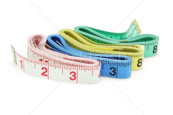Colorful measuring tapes Stock photo © dezign56