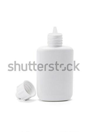 Open Plastic Bottle  Stock photo © dezign56