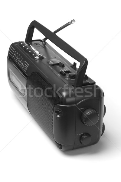 Radio cassette recorder player Stock photo © dezign56