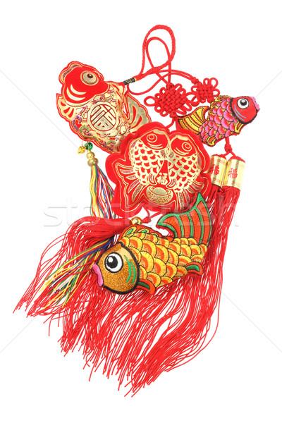 Auspicious Fish Ornaments  Stock photo © dezign56