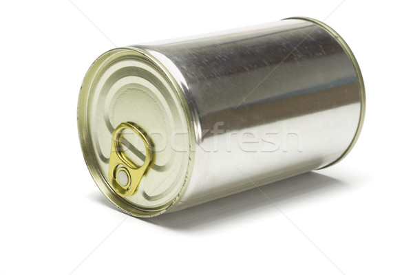 Sealed tin can Stock photo © dezign56